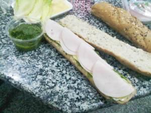ساندويش التيركي