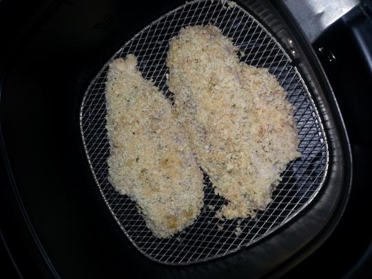 دجاج بالبانكو قبل الخبز