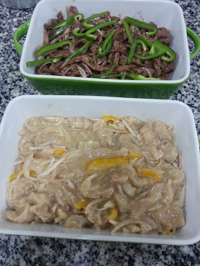 شاورما لحم ودجاج