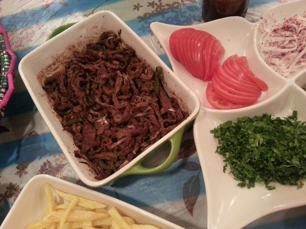 شاورما لحم