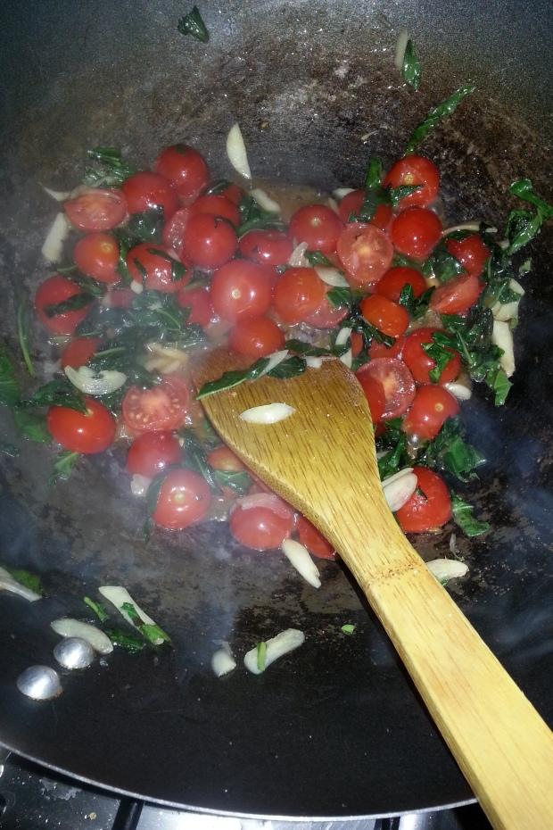 طماط وريحان للباستا