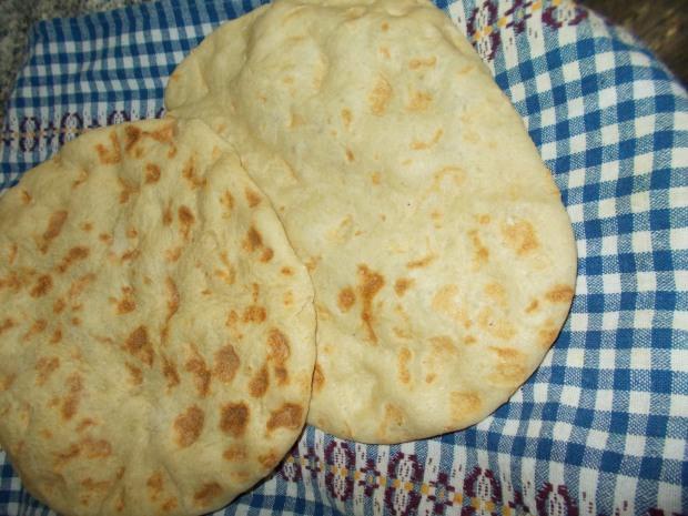 خبز طابون 5