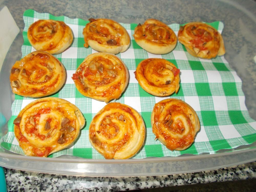 لفائف البيتزا 2